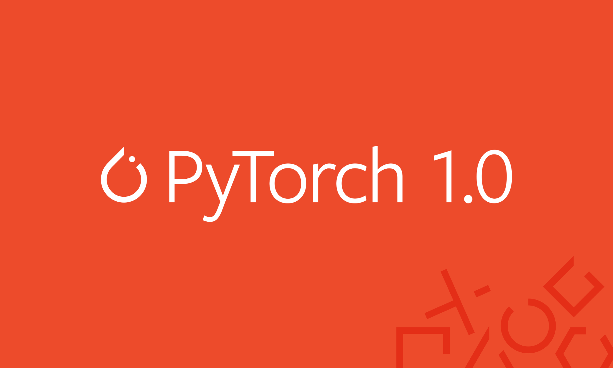 Announcing PyTorch 1 0 for both research and production