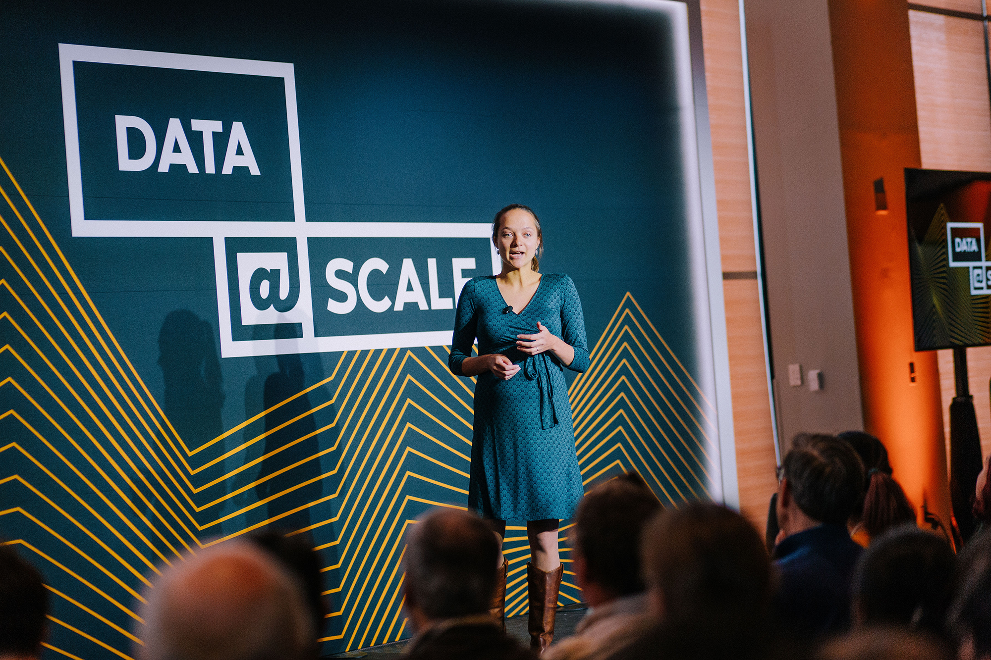 Data @Scale, an invitation-only technical conference for engineers working on large-scale storage systems and analytics. Facebook's Seth Silverman, engineering manager, and Laney Zamore, software engineer, kicked things off in downtown Boston.