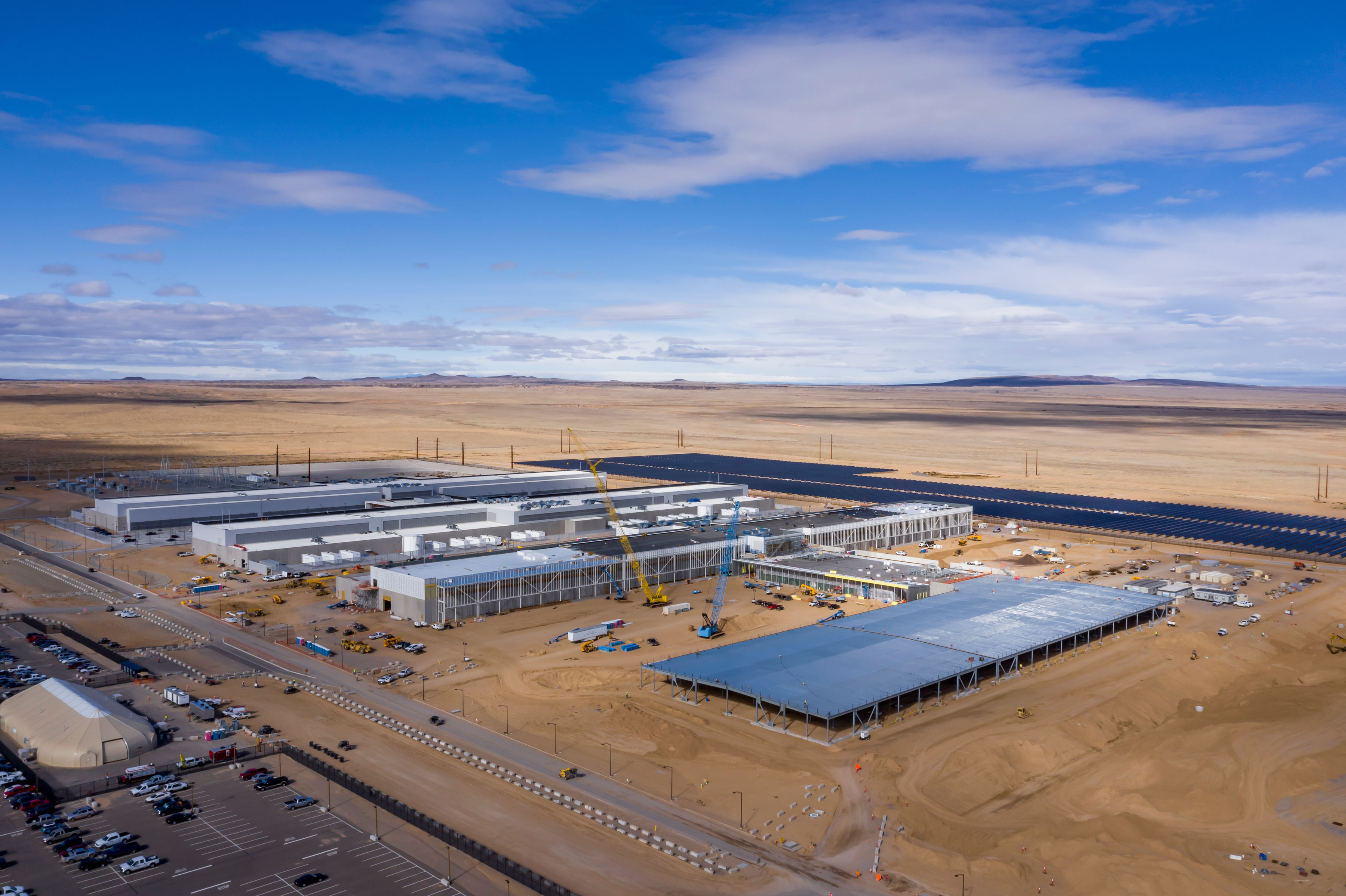 Our newest data center in Los Lunas, New Mexico on Code.fb.com, Facebook's engineering blog