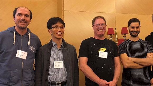 The team behind Infer: Facebook researchers Cristiano Calcagno, Dino Distefano, and Peter W. O'Hearn and Hongseok Yang of KAIST win Most Influential POPL Paper Award at ACM SIGPLAN 2019.