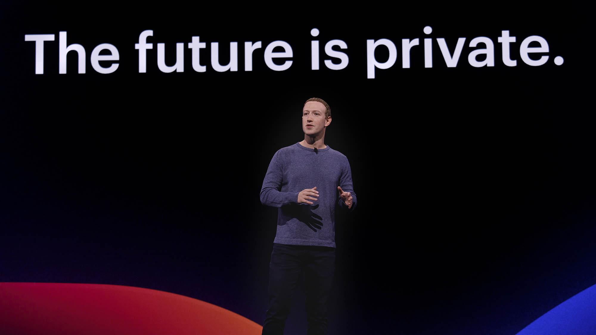 F8 2019 Day 1 keynote video Mark Zuckerberg speaks at F8