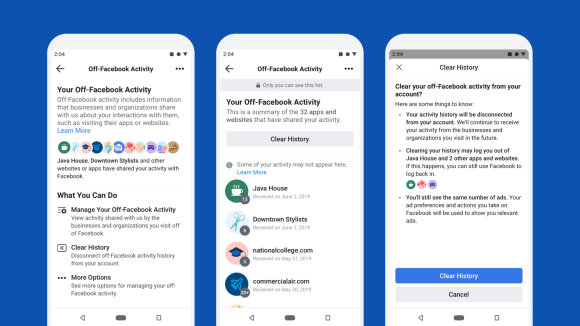 Redesigning our systems to provide more control over Off-Facebook Activity - Facebook Clear History