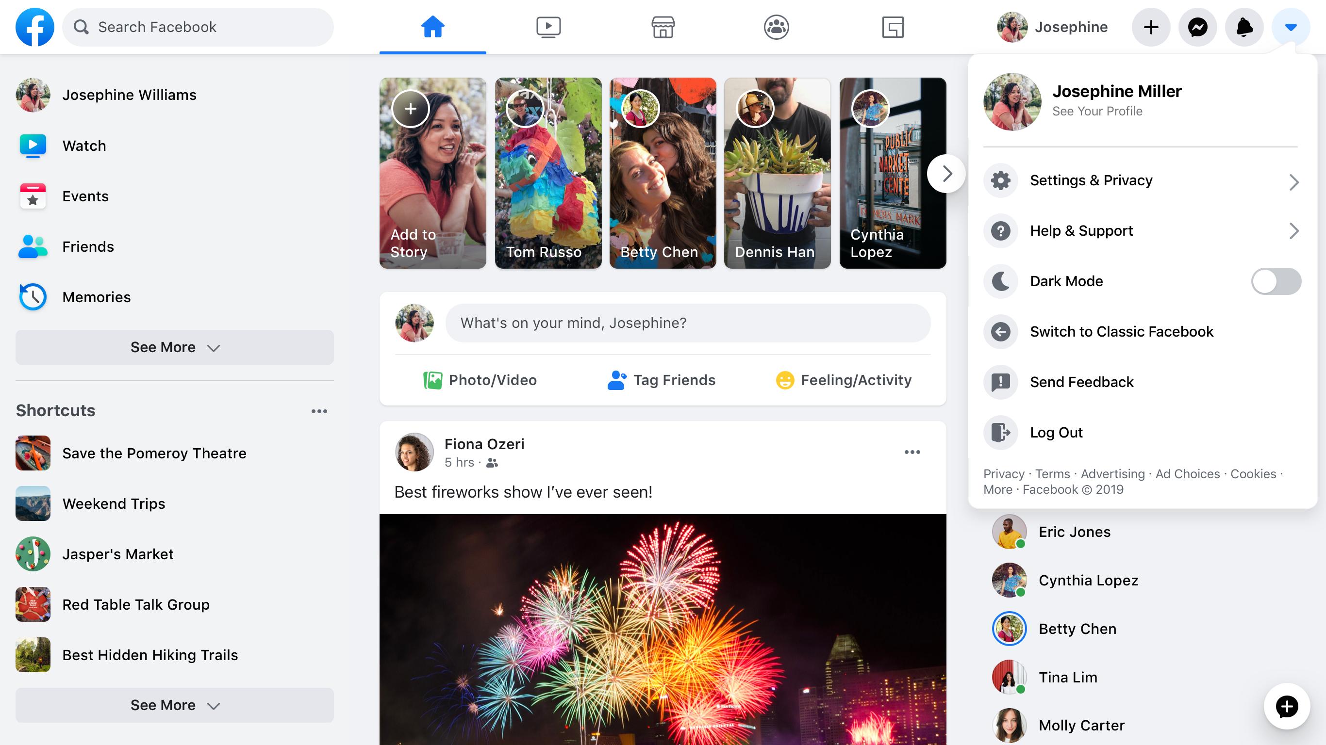 New Facebook.com design in light mode: Rebuilding our tech stack for the new Facebook.com