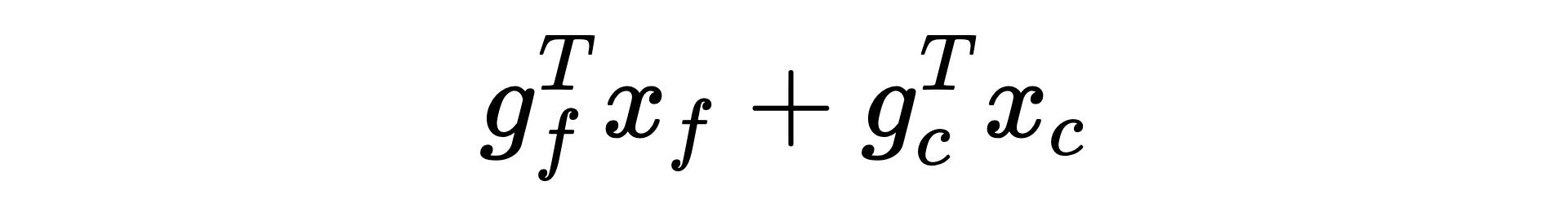 linear programming equation