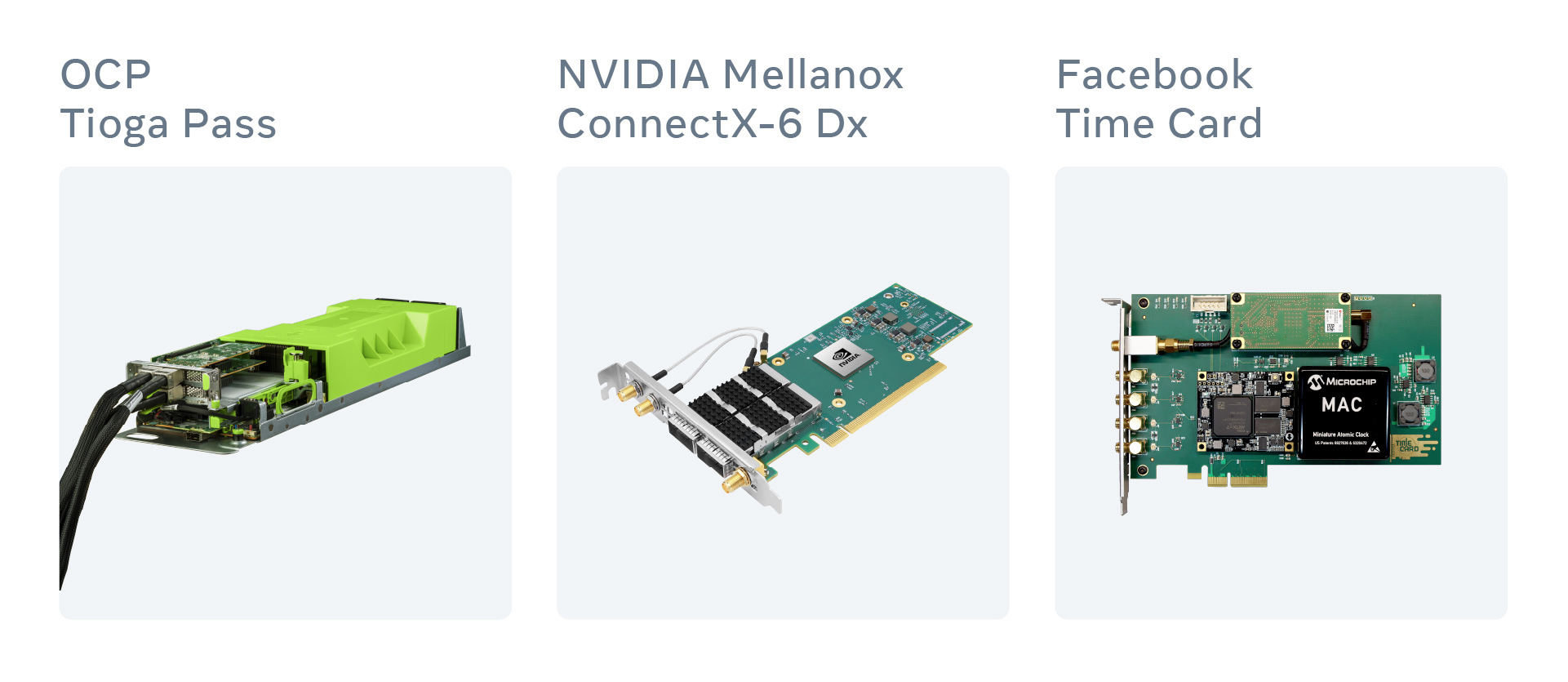 Image showing the components to build a time appliance